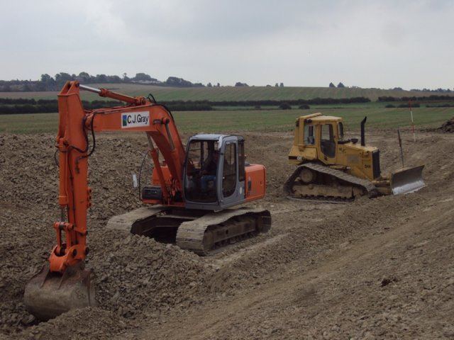 - Slurry Pit Construction