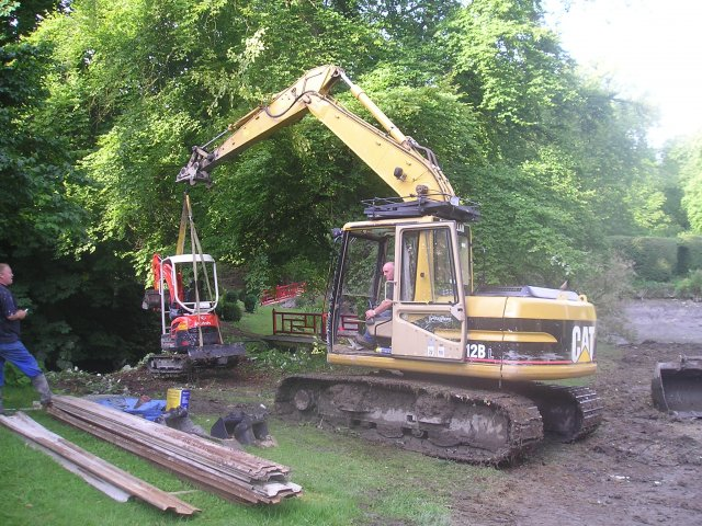 - A large de-silting project in a glorious setting. Involving one large lake and two smaller pools with limited access.